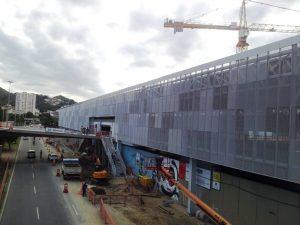 cantiere Stazione Maracanã Fratelli Mariani